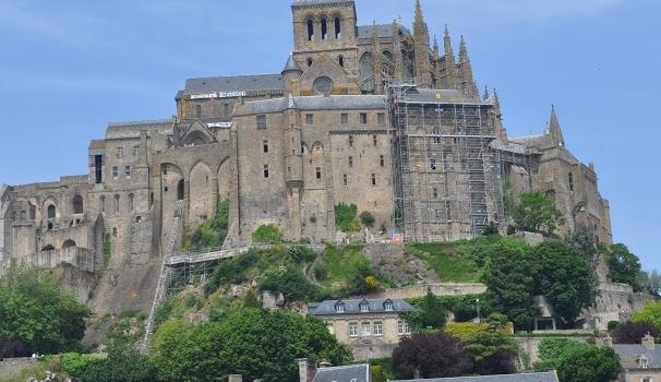 El Mont Saint–Michel de Francia