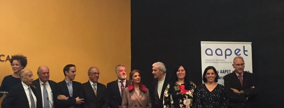 AAPET CELEBRA SUS PREMIOS TURÍSTICOS PEDRO ZARAGOZA ORTS 2017