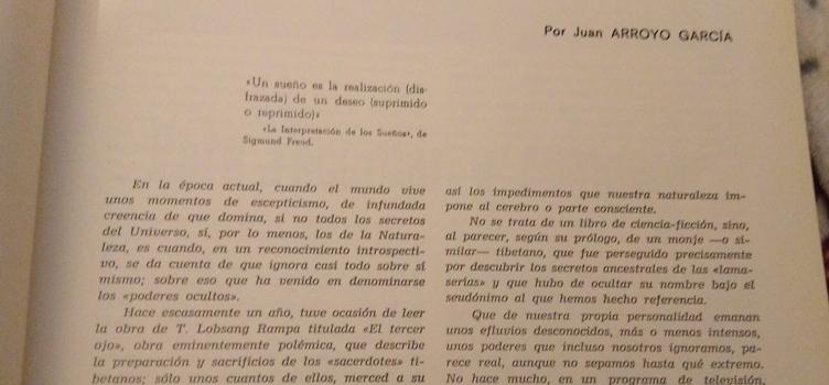 """REENCUENTRO EN MONÓVAR: """"EL SUBCONSCIENTE A TRAVÉS DE LOS SUEÑOS"""""""