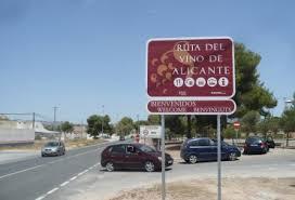 PINOSO: LA ENTRADA A LA RUTA DEL VINO, POR J.T. LOZANO -17-01-2012
