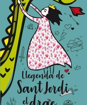 LA LEYENDA DE SAN JORDI, EL DRAGÓN Y LA PRINCESA