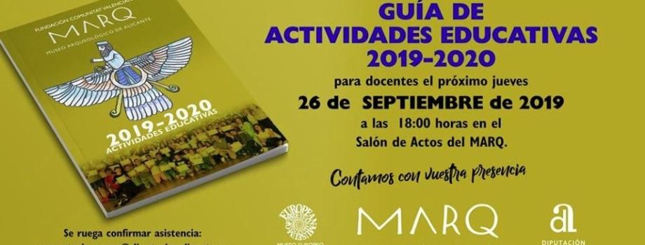 PROGRAMACIÓN EDUCATIVA DEL MARQ PARA EL CURSO 2019/20
