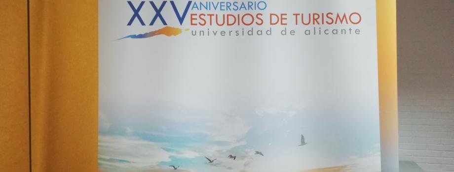 ACTO CONMEMORATIVO DEL XXV ANIVERSARIO ESTUDIOS DE TURISMO DE LA UA